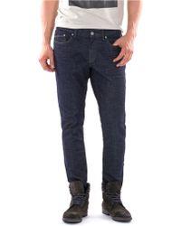 William Rast Dylan Slim Crosshatch Jeans - Lyst