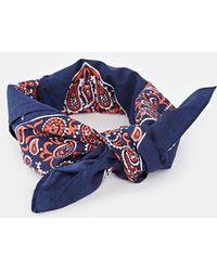 Asos Paisley Print Headscarf Neckerchief - Lyst
