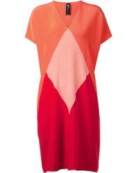 Zero + Maria Cornejo Colorblock Dress - Lyst