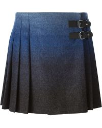 RED Valentino Kilt Style Skirt - Lyst