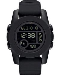 Nixon Unit 40 Black Watch - Lyst