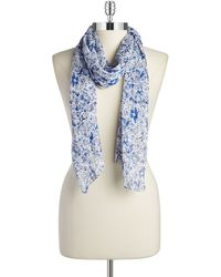 William Rast - Bohemian Floral Scarf - Lyst