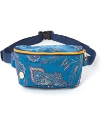 Mi-Pac | Blue Lady Paisley Bum Bag | Lyst