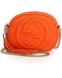 Gucci | Soho Leather Mini Chain Bag | Lyst