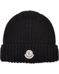 Moncler Knit Beanie - Lyst