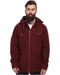 Nixon Captain Quilted Jacket - Lyst