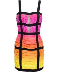 Balmain Silk Degrade Sunset Dress - Lyst
