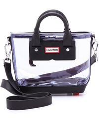 Hunter Mini Original Clear Tote  - Lyst