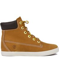 timberland 6 inch wedge boots wheat nubuck