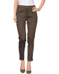 Etro Casual Trouser brown - Lyst