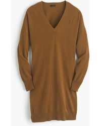 J.Crew | Collection Italian Cashmere V-neck Dress | Lyst