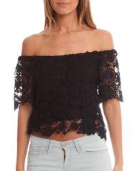 Nightcap | Caribbean Crochet Crop Top | Lyst