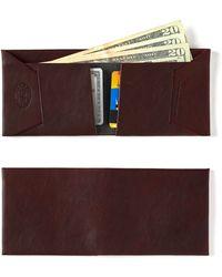 Maxx + Unicorn   Leather Wallet In Oxblood   Lyst