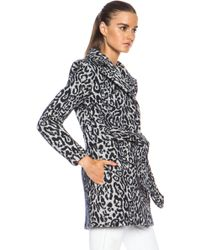 Laveer Spy Wool-blend Coat - Lyst