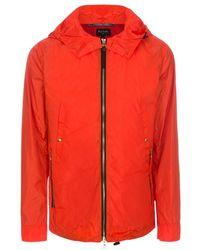 Paul Smith Orange Waterproof Jacket - Lyst