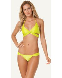 ViX Solid Acid Middle Loop Top yellow - Lyst
