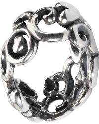 Trollbeads - Mother's Day Mother's Garden Sterling Silver Charm - Lyst