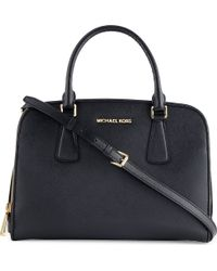 Michael by Michael Kors Reese Large Saffiano Leather Satchel - Lyst