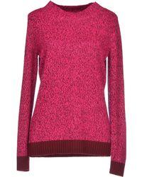Matthew Williamson Purple Sweater - Lyst
