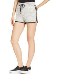 DKNY French Terry Shorts - Lyst