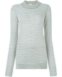 Forte Forte | Striped Crew Neck Sweater | Lyst