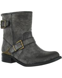 Mia Misty Faux Leather Boots - Lyst