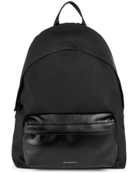 Givenchy Coated-Canvas And Leather Backpack - Lyst