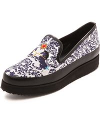 Mother Of Pearl Kennedy Unicorn Slip On Sneakers  Unicorn - Lyst