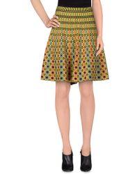 212 New York - Knee Length Skirt - Lyst