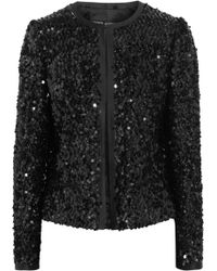 Dolce & Gabbana Sequined Jacket - Lyst