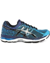 Asics | Gel Cumulus 17 Blue/black Trainers | Lyst