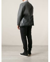 Rick Owens Rivet Detail Shoulder Bag - Lyst