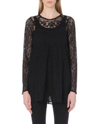 Free People Lace Floral Dress - For Women - Lyst