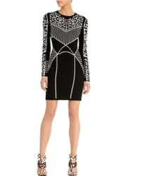 Rachel Roy - Leopard Printed Knit Dress - Lyst