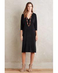 Dolan - Dera Cupro Midi Dress, Black - Lyst