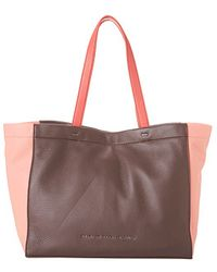 Marc By Marc Jacobs Whats The T Tote purple - Lyst