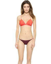Zimmermann Essence Triangle Bikini Set  - Lyst
