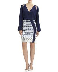 Rachel Roy - Multi Ikat Print Skirt - Lyst