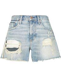 Denim & Supply Ralph Lauren - Distressed Cut-Off Denim Shorts - Lyst