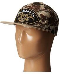 Nixon Uss Trucker Hat - Lyst