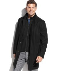 Tommy Hilfiger Single-breasted Overcoat - Lyst