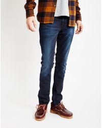Nudie Jeans | Tight Ling John Jean Blue | Lyst
