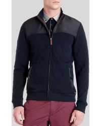 Ted Baker Kartel Quilted Layering Jacket - Lyst
