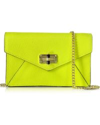 Diane von Furstenberg | 440 Gallery Bitsy Caviar Leather Mini Bag | Lyst