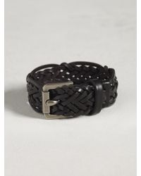 John Varvatos Braided Cuff - Lyst