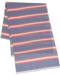 Gant Rugger - Striped Cotton Scarf - Lyst