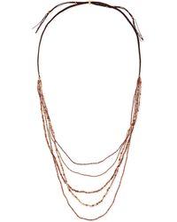 Nakamol Multi-Strand Beaded Necklace - Lyst