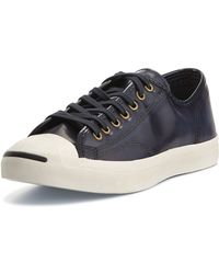 Converse Jack Purcell Leather Sneakers - Lyst