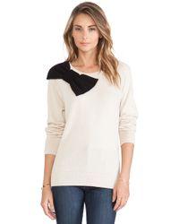 Kate Spade Slouchy Raglan Sweater - Lyst