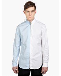 Maison Margiela 10 Men'S Cotton Zip-Up Shirt - Lyst